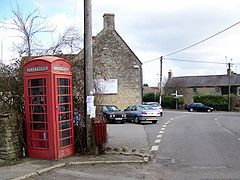 White Hart and Phone Box Trudoxhill
